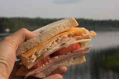 (Theresa Best) Tags: canon canont6s canon760d canon8000d theresabest wisconsin lake northwoods lakelife food foodie sandwich lunch