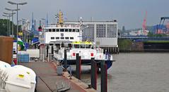 Emden outer harbour with Borkum ferry and catamaran ... (Manfred_H.) Tags: vehicles watervehicles ships ferries catamaran eastfrisia eastfriesland ostfriesland borkumfähre seeschleuse sealock docklandarea pier anleger