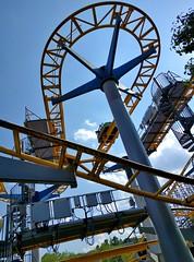 Kings Dominion - Ricochet (Stabbur's Master) Tags: virginia kingsdominion ricochet themepark amusementpark rollercoaster steelrollercoaster kingsdominionrollercoaster applezapple wildmouserollercoaster wildmouse