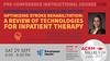 ACRM2018 Pre-Conference Instructional Course & reception Encompass Health Tour