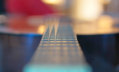 Well, my guitar... (ranssom.) Tags: guitar blur bokeh