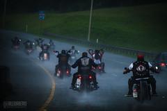 Riding through A Storm (alexabero) Tags: rain storm motorcycle motorbike hawaii bikergang atualoamc biker lights lowlight sony sonya ride