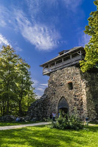 Torre del Homenaje, Castillo de Sigulda