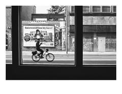 161105_00013_OM2n_city fragment 8/19 (A Is To B As B Is To C) Tags: aistobasbistoc b belgië belgium antwerpen antwerp antwerpencentraal pelikaanstraat olympus om2n analog film kodak tmax bw blackwhite blackandwhite monochrome street streetphotography city citylife people urban bike bikelane biking silhouette fragment