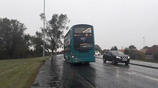 Arriva northumbria 7411 RARE on the 2