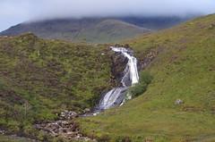 Waterfalll (Sundornvic) Tags: isle skye scottland island mountains morning light sun shine water rocks wild