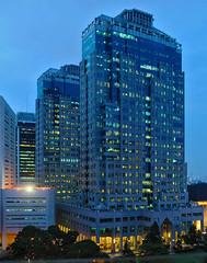 Menara Kembar BI (Ya, saya inBaliTimur (leaving)) Tags: jakarta building gedung architecture arsitektur office kantor