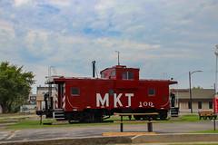 K-T Caboose - Parson's Kansas (BeerAndLoathing) Tags: summer 2017 roadtrip kansas 77d parsons colorado trip trains canon eclipsetrip august usa canoneos77d