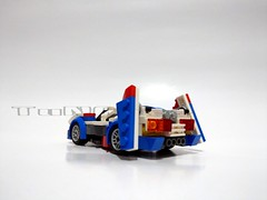 Lego moc - Asurada GSX (c_s417) Tags: lego moc asurada gsx 雷神 future cyber formula gpx race car 高智能方程式
