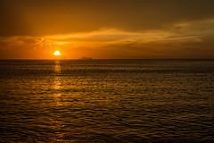 El siempre estará...!!! (Nita_Fotos) Tags: sun sundown clouds blue orange sol atardecer nubes naranja cielo reflection reflejos arboles agua backligh contraluz mar marcaribe sea caribbeansea • barcos botes ships lecheria venezuela tuniñasalvajedelaselva