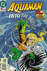 Aquaman 01 1994 (WesternOutlaw) Tags: aquaman aquamancomic dc dccomics atlantis blackmanta arthurcurry