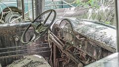 Old Car City 128 (augphoto) Tags: augphotoimagery abandoned decay old texture truck vehicle weathered white georgia unitedstates