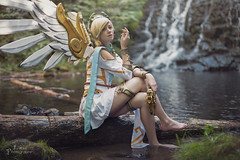 Overwatch: Mercy Winged Victory [ Shooting Cosplay Privé ] (junkeephotography) Tags: overwatch mercy overwatchcosplay mercywingedvictory mercycosplay modele beautiful frenchcosplay overwatchcosplaygirl cosplayer cosplay cosplays cosplayers cosplaygirl portrait cascade nature shooting naturel natural girls badass france auvergne gamecosplay overwatchgirl beauty personne girlphotography photography photoportrait eos canon sigmaart artist foret forest lightroom girlportrait naturallight light worm homemade heal medic stronggirl cosplayportrait frenchgirl french water wood waterfall paysage landscape angel angelgirl angelcosplay