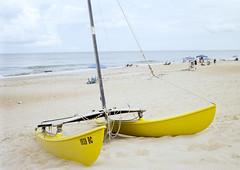 2018-08-31-0001 (bryaneberly@ymail.com) Tags: olympusom2n olympusomgzuiko28mmf35autow outerbanks nagshead northcarolina ocean beach boat kodakektar100 film analogue coloranalog sand vacation plustekopticfilm8200ise catamaran