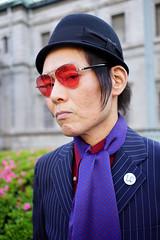 Face (Eric Flexyourhead) Tags: nakanoshima 中之島 kitaku 北区 osaka osakashi 大阪市 kansai 関西地方 japan 日本 city urban modsmayday 2018modsmayday osakamodsmayday 2018osakamodsmayday scooterrun mod mods modernist portrait streetportrait stylish japanese guy man vintage classic retro shallowdepthoffield sonyalphaa7 zeisssonnartfe35mmf28za zeiss 35mmf28