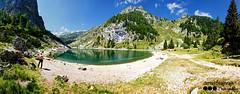 Krnsko jezero/Mt. Krn Lake (Nstajn) Tags: sony sonya7ii summer mountains thealps julianalps travel trekking zeiss 1635 panorama nature slovenia trenta krn landscape lake water wide hill