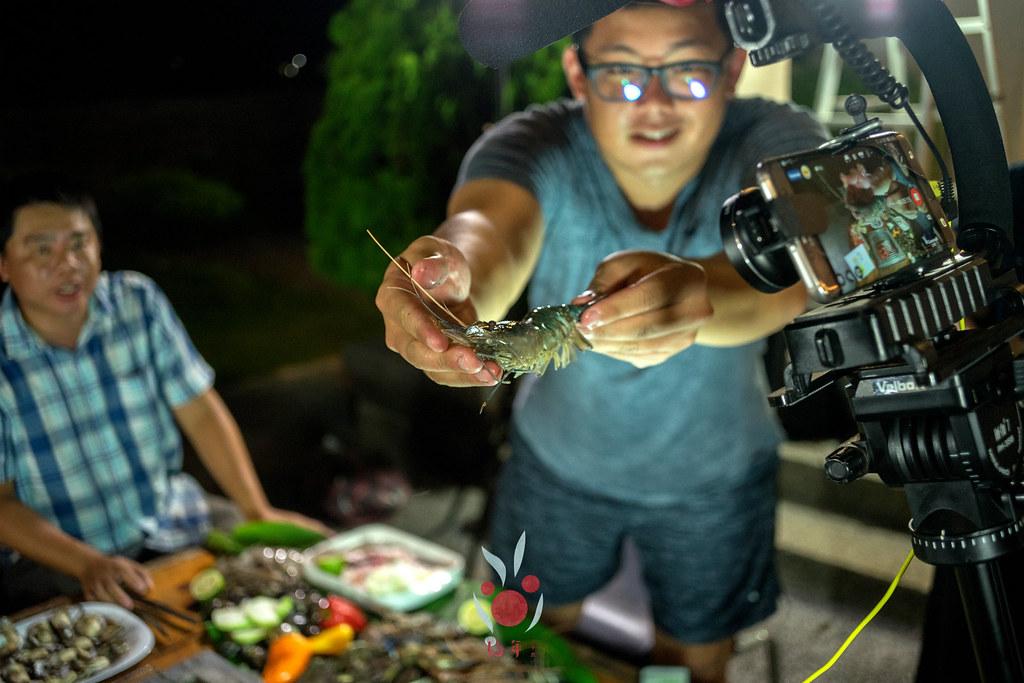 最奢華的中秋烤肉組 海鮮大集合之 龍膽石斑、泰國蝦、蚵、大卷 |小農聯盟15