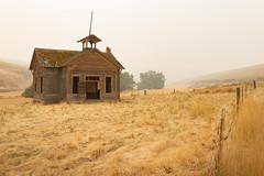 Lynn Schoolhouse (Pedalhead'71) Tags: abandoned desert easternwashington garfieldcounty lynnschoolhouse prairie rural school washington