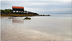 The Boat House (rabranter) Tags: boatshed dunaverty nd filter leebigstopper