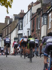 Climbing the hill once again (Steelywwfc) Tags: ovo energy tour series durham alex luhrs ribble pro cycling will brown ed clancy jlt condor alfie george spokes racing team james ireson morvelo basso matt clarke wheelbase castelli julio amores vitus john archibald mattia viel holdsworth gruff lewis south street