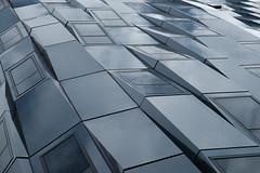 angular waves (jhnmccrmck) Tags: melbourne victoria fujifilm xt1 classicchrome windows reflection architecture iminexplore