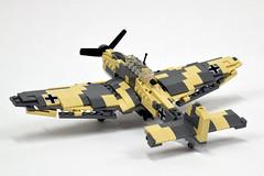 "Junkers Ju-87 ""Stuka"" (3) (Dornbi) Tags: lego junkers ju87 stuka germany wwii dive bomber attack"