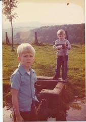 Late summer 1976 (nick_cw1861) Tags: zweibruken germany philsmith brother nicksmith