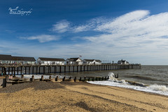 ADSC_4268 (Russell Bruce Photography) Tags: southwold coast uk seaside british town sea architecture pier waves surf church beachhuts colourful colours sunny summer landscape view beautiful suffolk russellbrucephotography nikon professional