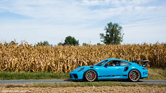 Mark II (Gaetan | www.carbonphoto.fr) Tags: porsche 991 gt3 rs mkii miami blue gold wheels supercars hypercars cars coche auto automotive fast speed exotic luxury great incredible worldcars carbonphoto amberieux azergues sportives dhier et daujourdhui france germany