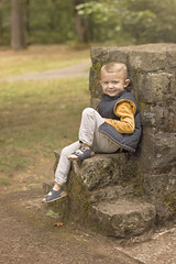 Cute Smile (The Wanderlust Wildflower) Tags: boys brothers portrait oregon forest portlandia portland pnw