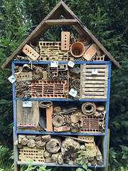 Insect Hotel (Antropoturista) Tags: france somme abbey valloires insecthotel ecological triangle