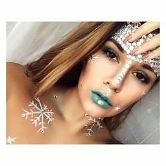 Halloween Makeup Ideas  Makeup by @laurastzki (ineedhalloweenideas) Tags: ineedhalloweenideas halloween makeup make up ideas for 2017 happy night before christmas october 31 autumn fall spooky body paint art creepy scary pumpkin boo artist goth gothic
