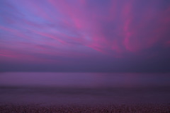 Abstract sunset (Valentina Conte) Tags: sunset abstract sea longexposure travel numana clouds cloudscape red color nature sunrise dawn beach marcelli seasunclouds pnk purple horizon canon100d rebelsl1 valentinaconte minimal minimalism sky landscape landscapephotography waves skyporn shades light