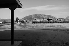 Dell (jameshouse473) Tags: monochrome dell montana union pacific up railroad railway