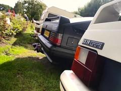 Kip / Citroën BX 19 TRI / 14 TE Custom / 19 GTi (Skylark92) Tags: nederland netherlands holland gelderland kesteren lede oudewaard citroën bx 19 gti rk55nv 1987 14 te custom xx98lv 1990 tri u9 xr10rd 1989 onk origineel nederlands kenteken kip campine k370 0274wp 1980 car road grass window bxclub kampeerweekend