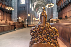 Choir Box, Princeton University Chapel (hilarybachelder) Tags: a7rii architecture august angle bokeh beautiful composition closeup dof depthoffield fullframe frame geometric goldenrectangle church chapel cathedral princetonchapel princeton princetonuniversitychapel choir choirbox choirseats pew carving woodcarving leadinglines lines mirrorless peaceful pointofview pov quiet tranquil sony sonya7rii shallowdepthoffield wide sony163528 sonygmaster sonygmaster163528 superwideangle vantagepoint viewpoint view wideangle zoom aspe ivyleague campus academic