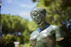 Women (juancamilo137) Tags: mnac museu nacional dart de catalunya museo arte cataluña barcelona españa estatua mujer women thinking pensar soledad