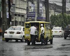 Gloomy Day (Beegee49) Tags: street rain raining jeepney public transport bacolod city philippines