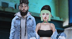 R.I.P #2 (Roxy Restless~Naito) Tags: unicult inkhole beusy girl boy fashion hair sl firestorm secondlife