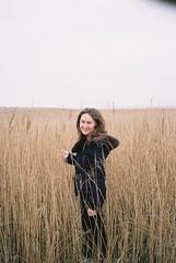 Walk in Suffolk in April (antoineami) Tags: contaxt2 portrait suffolk kodakportra kodakportra400