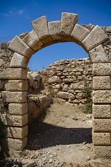 Western Auxillary Gate (Rudi Pauwels) Tags: kreta kriti crete rethymno fortezza gate tamron 18270mm tamron18270mm nikon d7100 nikond7100
