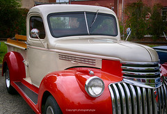 1946 Chevrolet Pickup Truck (Photographybyjw) Tags: 1946 chevrolet pickup truck restored rare classic found an auto show north carolina rural color country usa