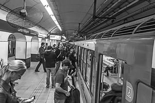 Estación Carlos Pellegrini.