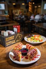 hocking-6447 (FarFlungTravels) Tags: food burrito drink eat hockinghills hungrybuffalo laurawatiloblake logan montechristo ohio tourism yuppieburger 2018
