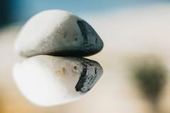 Perception makes me an obstacle ... (babs van beieren) Tags: monday macromondays macro closeup reflection stone rock light