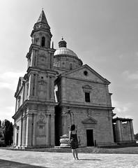 San Biagio (Federica Moriconi official) Tags: photography photo landscape italy tuscany lucca montepulciano pienza chiesa church sanbiagio santo blackandwhite bw italiangirl girl italianstyle