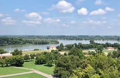 Serbia (Belgrade) View from fortress on the connection of River Danube with River Sava (ustung) Tags: riverview landscape danube savariver fortress belgrade serbia