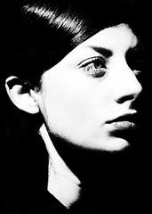 Harmony (.Betina.) Tags: woman betinalaplante portrait portraiture monochrome mood mono moody blackandwhite bb 2018