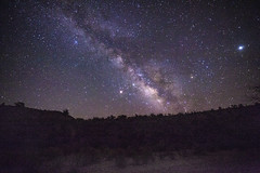 milkyway (AZ Bear Photography) Tags: arizona milkway stars hill mountain desert color purple summer photography canon planet core