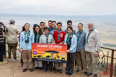 Tanzania Trip 2018 - Day 2 (28th Vancouver Scout Group) Tags: 28thkitsilanoscoutgroup 28thvancouverscoutgroup groupphoto ngorongorocaldera ngorongoroconservationarea ngorongorocrater scouts scoutscanada tanzania tanzaniaexpedition2018 venturerscouts venturers arusharegion tz
